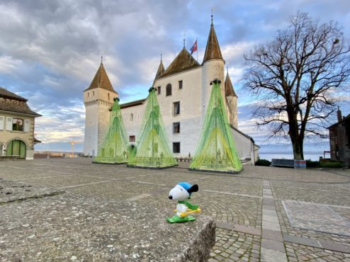 Nyon castle...
