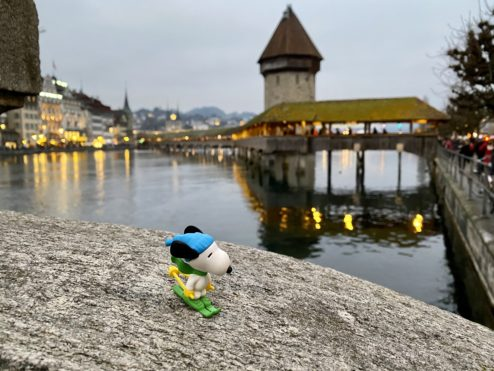 Quick walk in Lucerne...