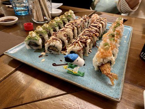 Brazilian sushi...