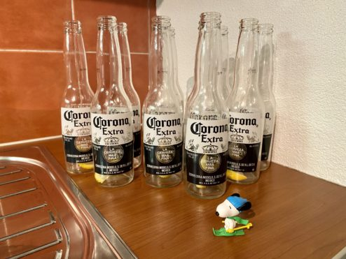 Fighting the Corona virus...