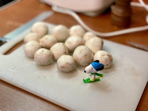 Mushrooms party...