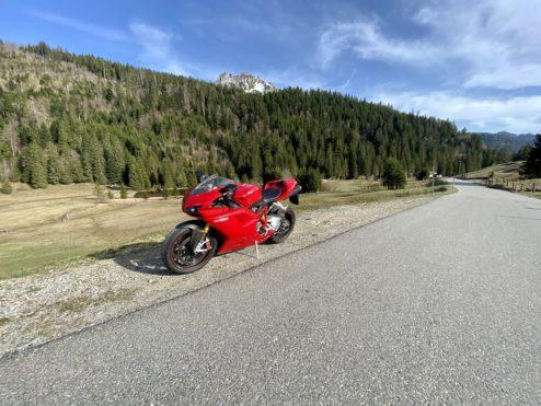 Riding...