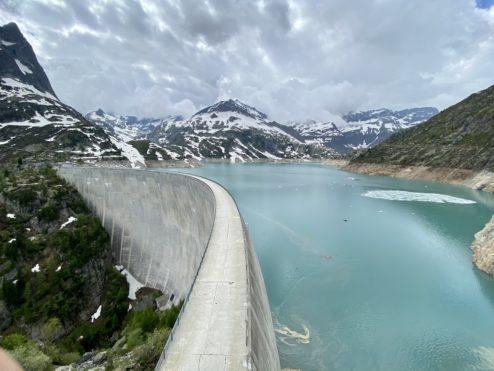 Emosson dam... 1950 meters...