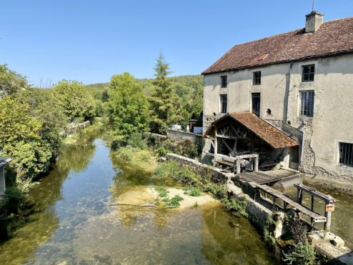 Water mill...