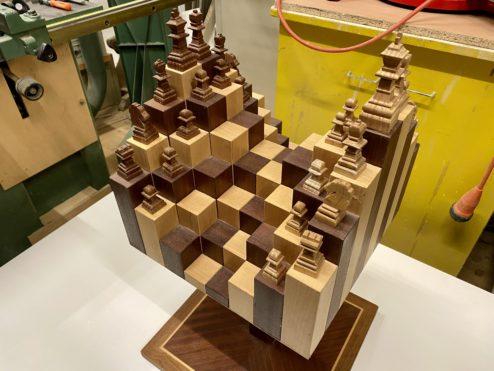 A weird chess board...