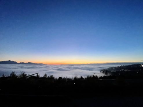 Sea of clouds...