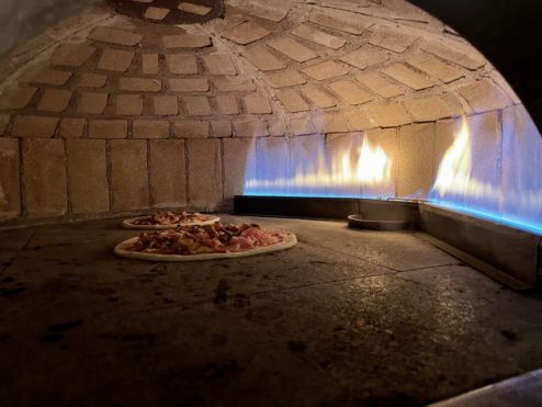 Where pizzas come from...