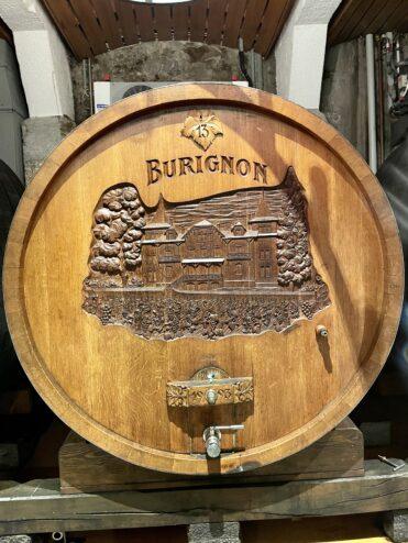 Visiting Burignon…