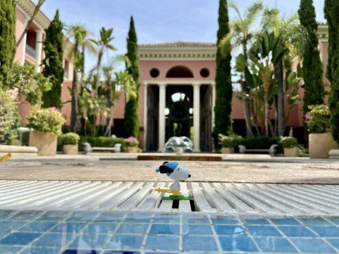 Swim at the Villa…